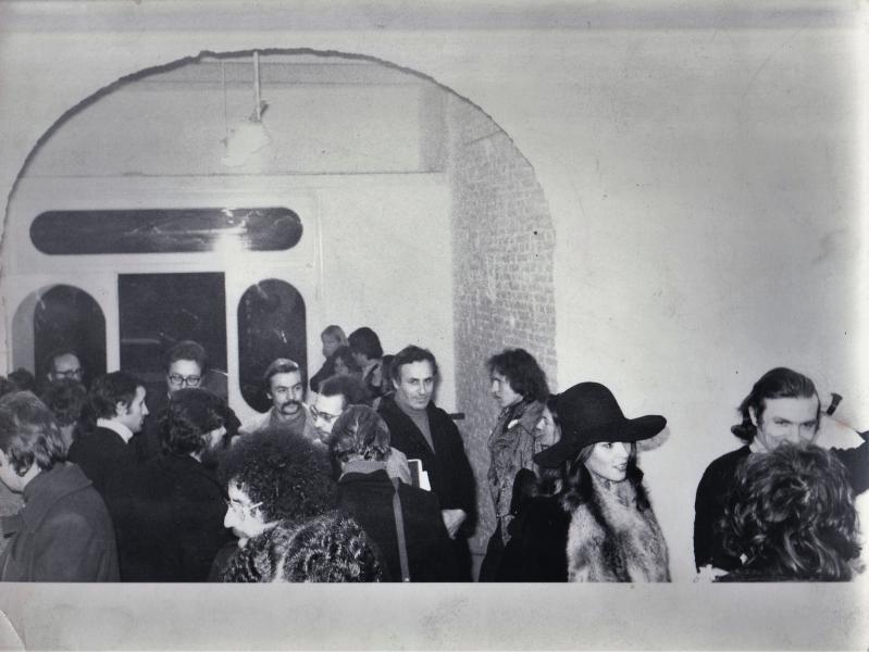 1973-Galleria Gap-prini-notargiacomo-mochetti-innocente-tamburi-ontani-sargentini