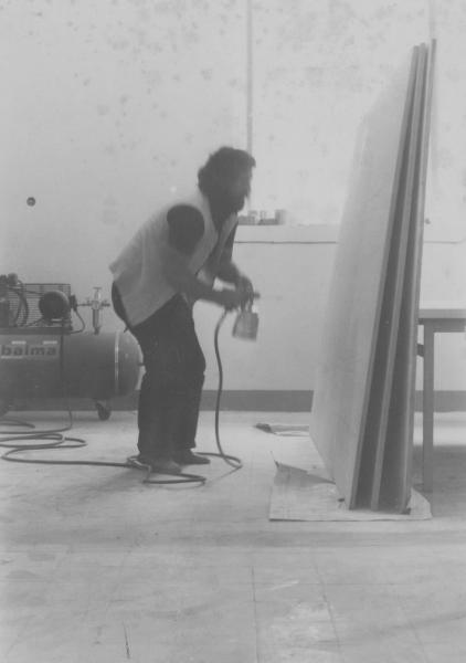 Innocente al lavoro fine anni 60