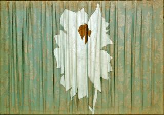 1965 Fiore bianco e oro