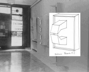 1967 Feticcio bianco + bozzetto